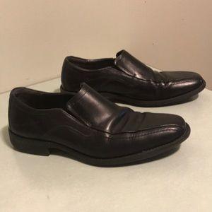 Johnston & Murphy sheepskin loafers